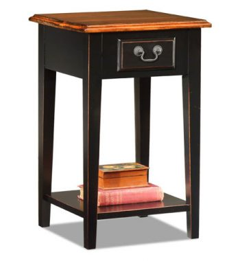 Square Side Table Two Tone