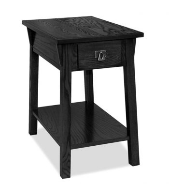 Mission Chairside Table Black