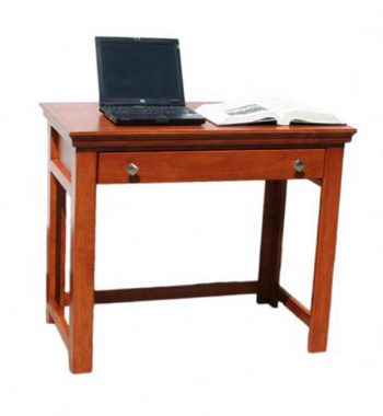 "Traditional Alder 36"" Laptop Desk"