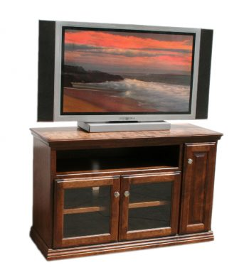 Traditional Alder 48 Inch TV Console