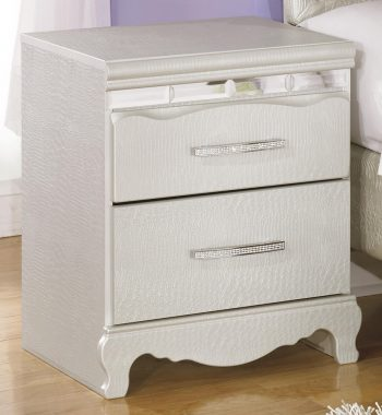 Zarollina Two Drawer Night Stand
