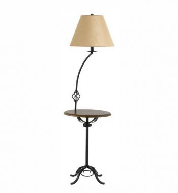 3-Way Wrought Iron Floor Lamp