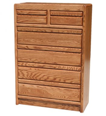 Modern Oak 6 Drawer Chest