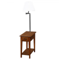 Chairside Lamp Table Medium by Leick Furniture