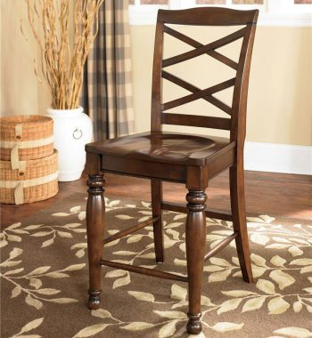 Ashley Porter Bar Stools - 24 Inch - (Set of 2)