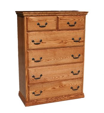 Traditional 6 Drawer Chest