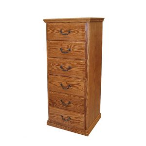 Traditional 6 Drawer Lingerie Chest