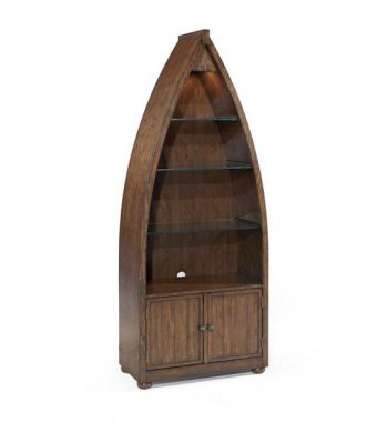 Beaufort Bookcase Dark Oak