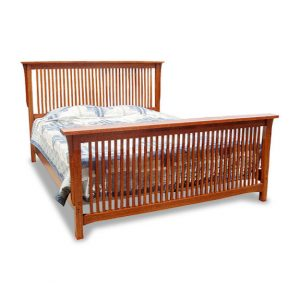 Cal King Spindle Bed