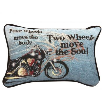 Four Wheels Move The Body - Word Pillow