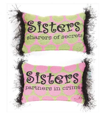 What Is A Sister - Word Pillow