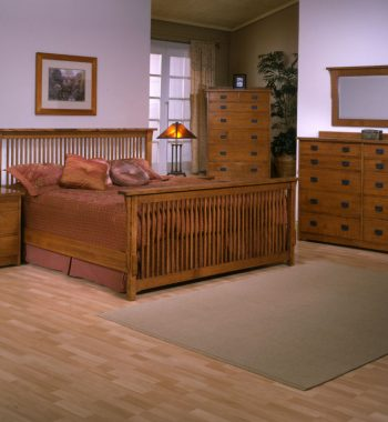 Mission Bedroom Set - Red Quartersawn Oak