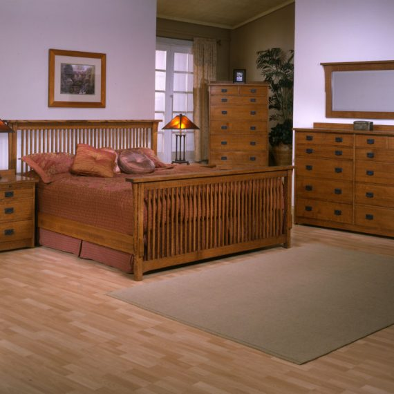 Mission Bedroom Set Red Quartersawn Oak Barr S