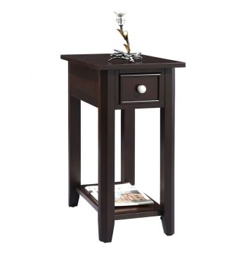 Metro 1 Drawer Chairside Table