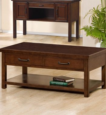 Willow Creek 2 Drawer Coffee Table