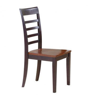 Charmant 2 Contemporary Farmhouse Ladder Back Side Chairs