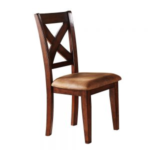 Java X Back Side Chair (Set of 2 )