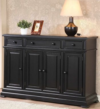 "Quails Run Ebony 58"" Sideboard"