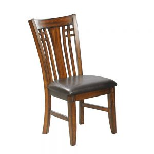 Zahara Slat Back Side Chair ( Set of 2 )