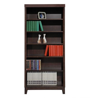 72 Inch Open Bookcase