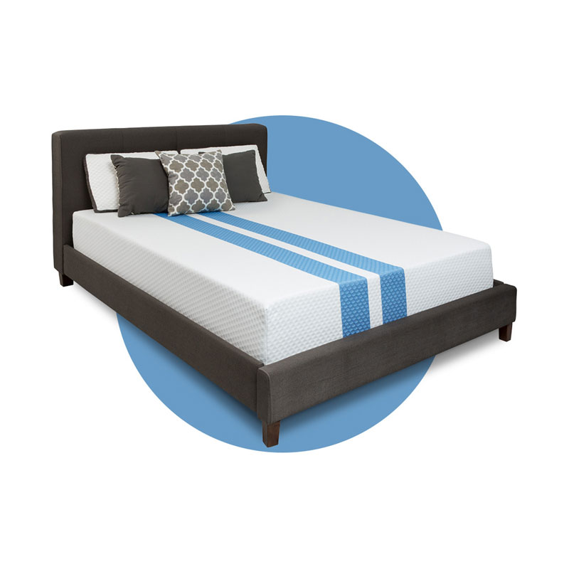 Rally Medium Memory Foam Full Mattress Barr S Furniture