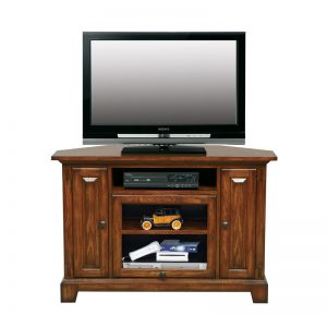 "Zahara Medium Oak 47"" Corner TV Stand"