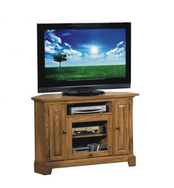 "Zahara Light Oak 47"" Corner TV Stand"